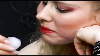 blonde German mistress with strapon Thumb