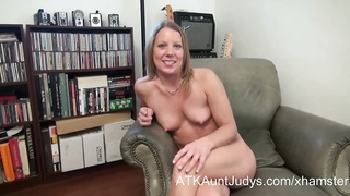 Alyssa Dutch masturbates for AuntJudyscom. Thumb