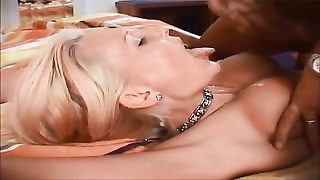 lovely and cool yellow-haired dutch female gets a facial Thumb