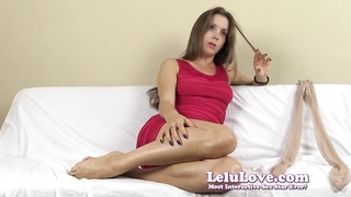 Lelu Love-Dirty Smelly tights FemDom abjection Thumb