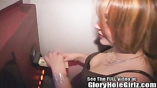Kym newly unmarried & deepthroating strange Gloryhole hard-ons Thumb