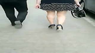 candid #86 woman with benign legs in high heels Thumb