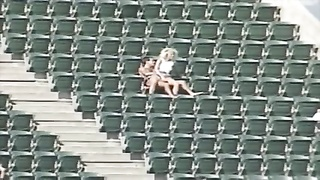 lovers Having hook-up  At The Stadium Thumb
