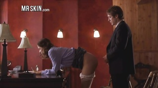 Nude secretaries appreciate to get torn up at the office! Thumb