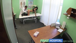 FakeHospital down stunning cheating wife needs doctors wait on for something Thumb