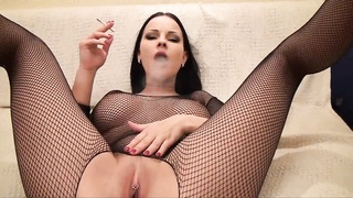 Smoking Fetish- spectacular smoking sex- Abbie C Thumb