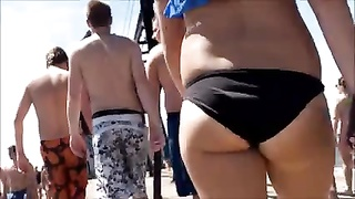 impartial Beach College ass caboose  West Michigan arse Thumb