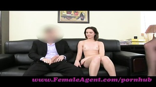 FemaleAgent. anal invasion creampie for cute Romanian chick Thumb