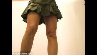 milf tries on clothes in a dressing room Thumb
