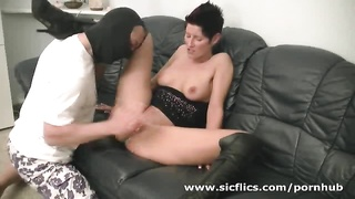 insatiable inexperienced mummy knuckle screwed by the builder Thumb