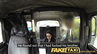 FakeTaxi The stowaway who sucks sausage for a free creep Thumb