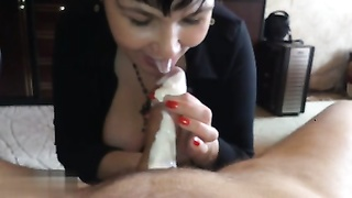 amateur Russian 6 (BJ With lashed Cream) Thumb