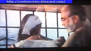beautiful girl with old man in indian movie Thumb