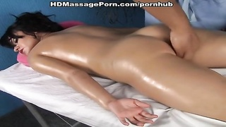 hot sex session during rotund bod massage Thumb