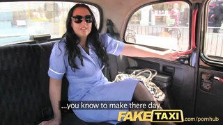 FakeTaxi Adventures of a taxi cab with large boobies and taut  pussys Thumb