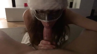 Santas small helper gets an ass-fuck  creampie Thumb