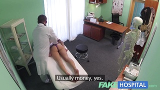 FakeHospital Doctor gives a tough orgasm to fit young damsel Thumb