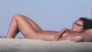Nude Beach mummies  Voyeur video Thumb