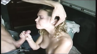 yellow-haired curly wifey  ravaged in bathroom Thumb