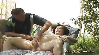 sexy pregnant gets tough prick in temper Thumb