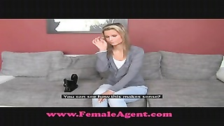 FemaleAgent Bisexual yellow-haired hottie Thumb