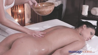 massage Rooms remarkable  yellow-haired in sapphic  romp Thumb