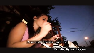 PublicAgent - exceptional outdoor hookup with beauty Thumb