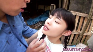 limited Japanese babe outdoor facialized Thumb