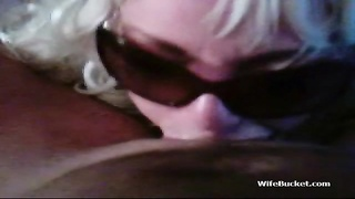 blonde wife blowing and butt pulverizing Thumb