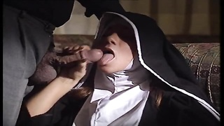 Italian Nun taking fat man-meat in her arse Thumb