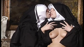 lezzie Nuns lick each other Thumb