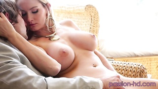 pretty yellow-haired with perfect assets  and extraordinary breasts Thumb
