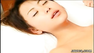 little tits oriental tramp gets recorded as she bangs Thumb