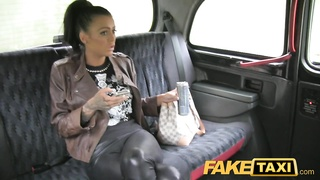 FakeTaxi - Brunette with tattoo and piercing Thumb