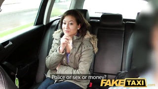 FakeTaxi No money so pays with her vagina Thumb