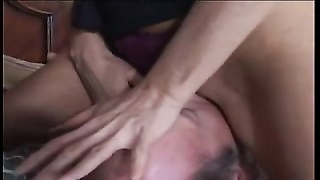 BRUNETTE milf GETS plowed Thumb