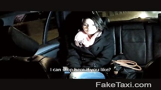 FakeTaxi - nice youthfull  damsel must pay her device Thumb