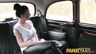 FakeTaxi - mopish unlit haired british dame Thumb