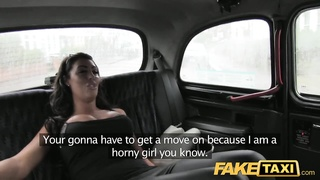 FakeTaxi cutie with big hooters screws in taxi Thumb