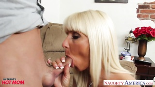 Pierced and tattooed mom Kasey Storm banging Thumb