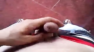 Indian white young boy feel alone Thumb