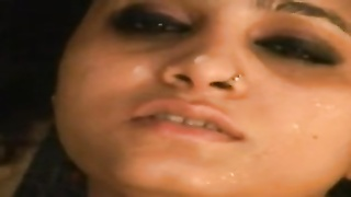 cute Indian woman creamed Over face n Caught on Cam Thumb