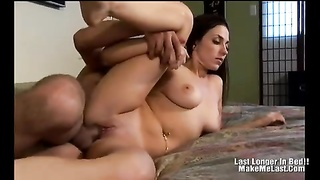 pretty Brunette With nice tits penetrate horny Thumb
