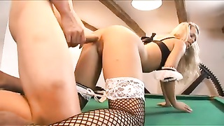 lovely blonde maid takes a cock I10 Thumb
