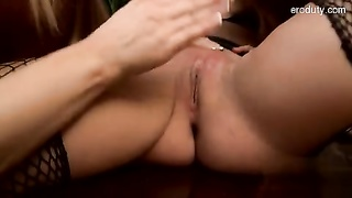 large melons housewife oral job Thumb