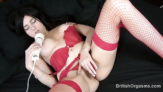 nasty honey  fingers her to orgasm Thumb