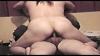 damsel slowly rides his penis with her pussy Thumb