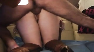 amateur in shoes plumbed from bum Thumb