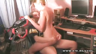 A steaming and youthful inexperienced lovers domestic tearing up tiresome! This blond girlfriend is Thumb