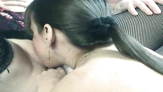 Foreplay in steaming molten groupsex Thumb